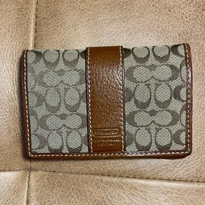 COACH Signature Collection Pocket Wallet